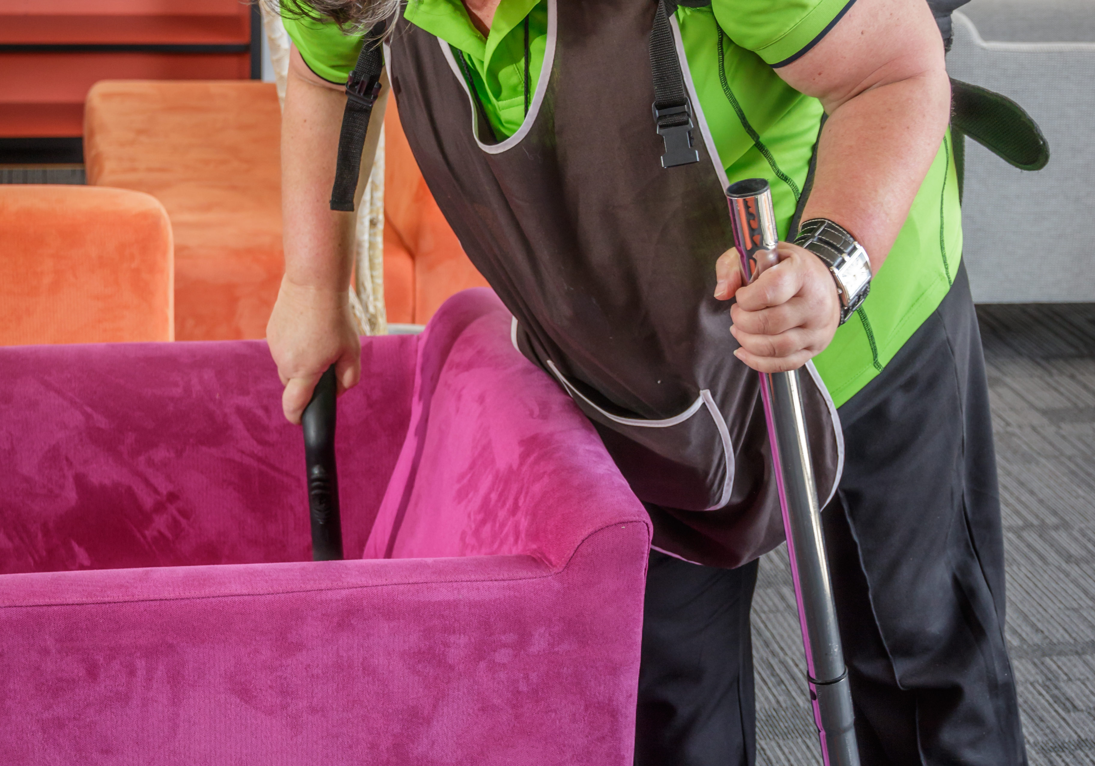 professional cleaning common areas strata