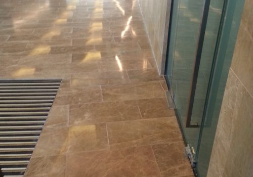 common area tiles professional clean